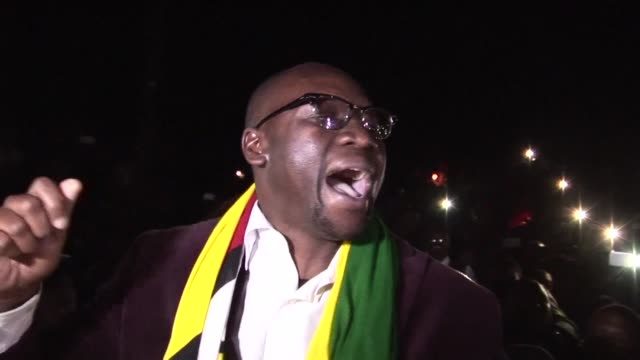 the pastor leading zimbabwe's new protest movement walks free from court after charges against him of attempting to overthrow president robert... - pastor stock videos and b-roll footage