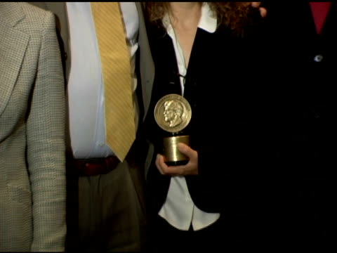 the peabody award belonging to 'the shield' at the 65th annual peabody awards at the waldorf astoria hotel in new york, new york on june 5, 2006. - waldorf astoria new york stock videos & royalty-free footage
