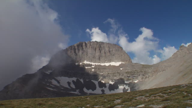 The peak of mount Olympus - also known as Throne of Zeus