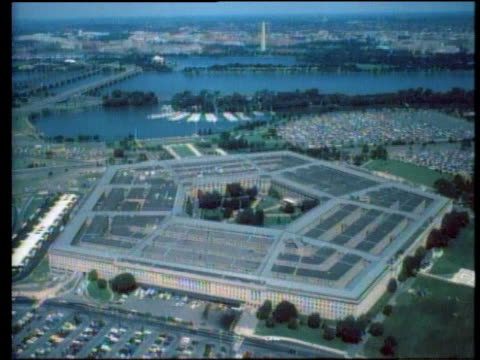 the pentagon / arlington county virginia usa - united states department of defense stock videos & royalty-free footage