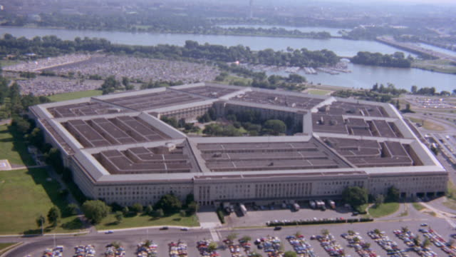 the pentagon stands as a monument of protection. - the pentagon stock videos & royalty-free footage