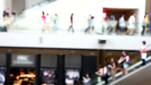 the people at shopping mall, singapore. - trade show stock videos and b-roll footage