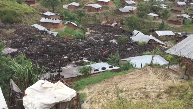 the people of chibuabuar an informal settlement of modest wooden homes perched on a hillside between a highway and the coast of pemba in north... - cyclone stock videos and b-roll footage