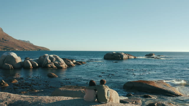 the perfect date for nature lovers - behind stock videos & royalty-free footage