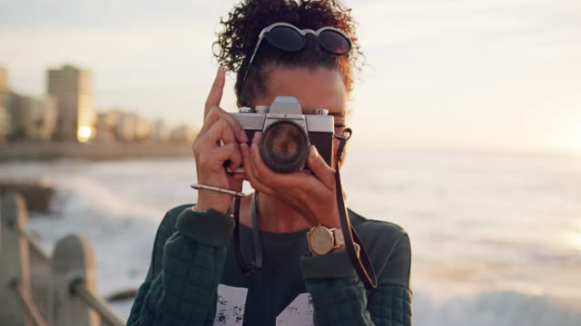 the perfect shot is right in front of me - camera photographic equipment stock videos and b-roll footage