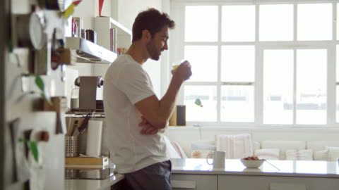 the perfect start to a day - domestic life stock videos & royalty-free footage