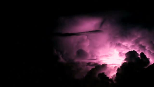 完璧な嵐;素晴らしい thunderbolts と lightings