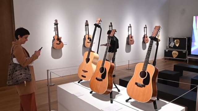 NY: Guitars from Pink Floyd star David Gilmour to go on sale at Christie's