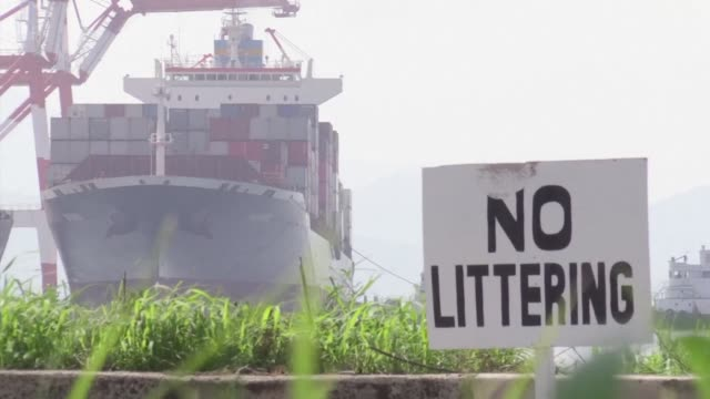 the philippines has started shipping tonnes of garbage to canada that was sent and left rotting in the southeast asian for over 5 years that has... - philippines stock videos & royalty-free footage