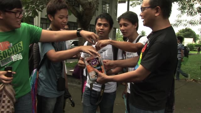 the philippines is one of only seven countries in the world where hiv is on the rise and the increase is fuelling a debate in the staunchly catholic... - condom stock videos and b-roll footage