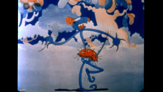 the pin cushion man threatens balloon land - 1935 stock videos & royalty-free footage