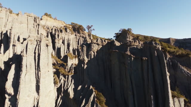 The Pinnacles - New Zealand badlands