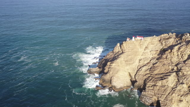 the point reyes lighthouse, point reyes national seashore, california, united states, marin county, north america - 1975 stock videos & royalty-free footage