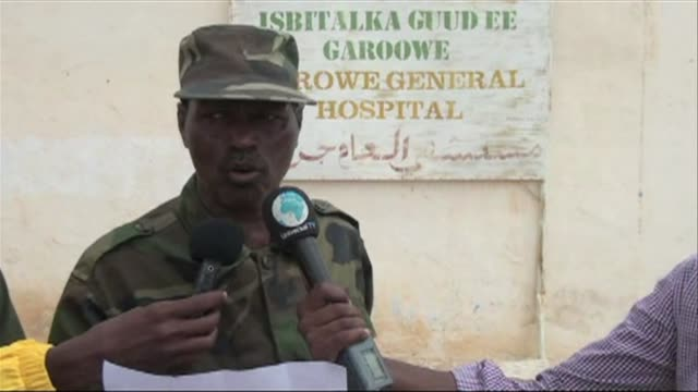 the police chief of the nugal region in somalia's puntland said seven people were killed during a bomb explosion carried out by somalia's shebab... - corno d'africa video stock e b–roll
