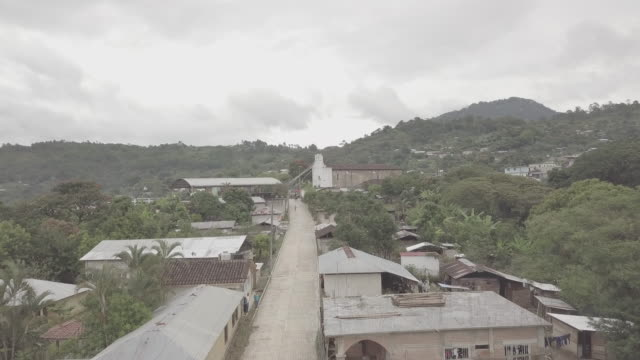 the poor village of guaquitepec, chiapas in mexico - chapel stock videos & royalty-free footage