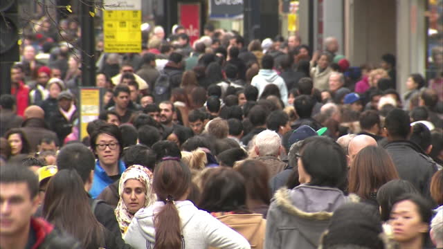 the population of england and wales jumped by more than 3 and a half million in the past decade according to the latest census figures the biggest... - 最大点の映像素材/bロール