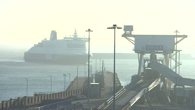 the port of dover - heavy goods vehicle stock videos & royalty-free footage