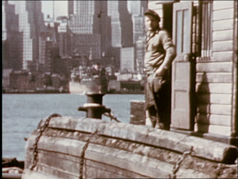 vidéos et rushes de the port of new york and how it was formed - 2 of 8 - croisière
