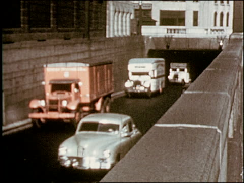 the port of new york and how it was formed - 6 of 8 - 1949 bildbanksvideor och videomaterial från bakom kulisserna