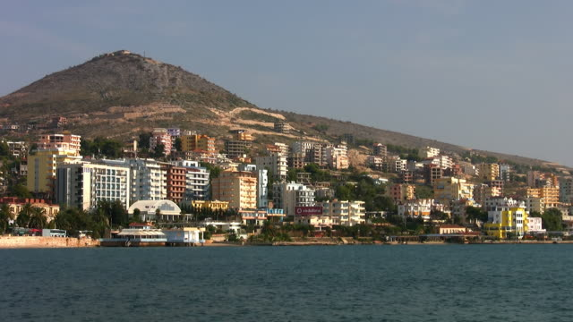 The port of Sarande.