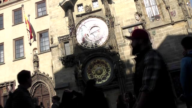 the prague astronomical clock or prague orloj is a medieval astronomical clock located in the capital of the czech republic in 2018 it underwent a... - astronomical clock prague stock videos and b-roll footage