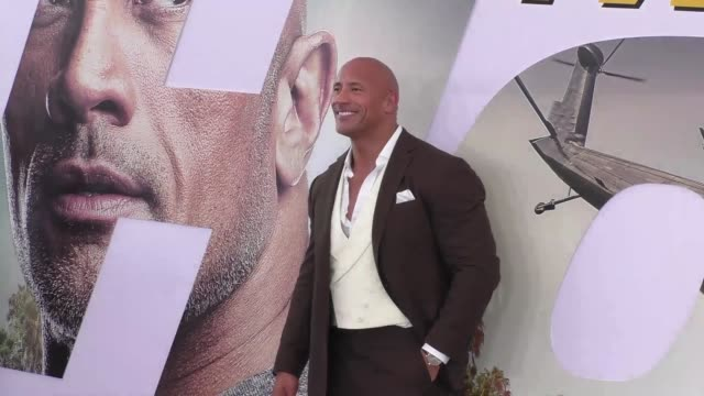 CA: The Premiere of 'Fast & Furious Presents: Hobbs & Shaw'