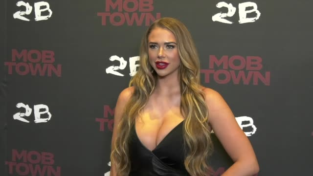 """the premiere of """"mob town"""" at los angeles film school on december 13, 2019 in los angeles, california. - patricia arquette stock videos & royalty-free footage"""