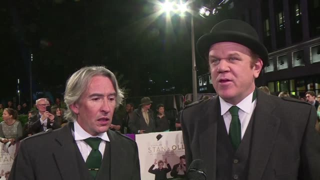 The premiere of Stan Ollie brought the London Film Festival to an official close on Sunday with Steve Coogan and John C Reilly who bring Hollywood...