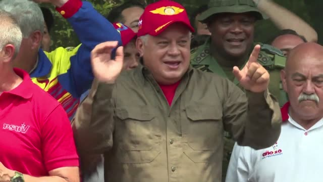 The President of the Constituent National Assembly and Vice President of the ruling party Diosdado Cabello calls a victory that not even one truck of...