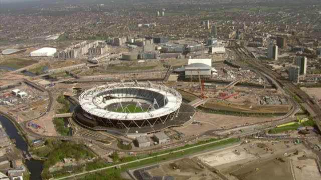the president of the international olympic committee says he's happy with the preparations for this summer's games in london the prime minister... - summer olympic games stock videos and b-roll footage