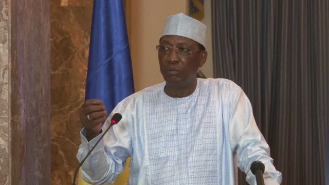 the presidents of niger and chad on monday asked burkina faso coup soldiers to return to their barracks and hand over power to the interim government... - mahamadou issoufou stock videos and b-roll footage