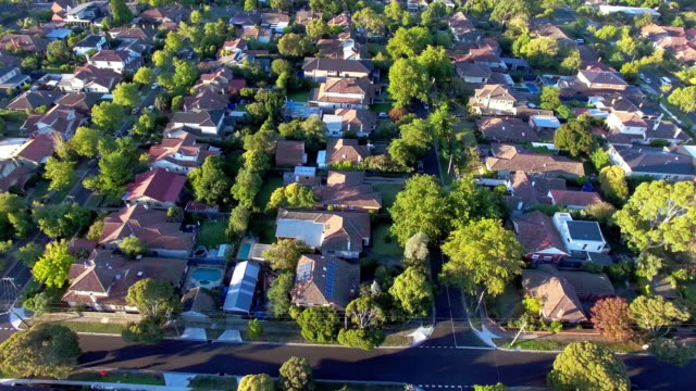 the prestige suburb of kew, melbourne - david ewing stock videos & royalty-free footage