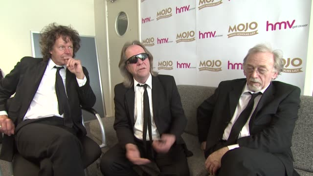 The Pretty Things Frank Holland Phil May Dick Taylor on winning other awards on winning the Mojo on how they kept the group together all these years...