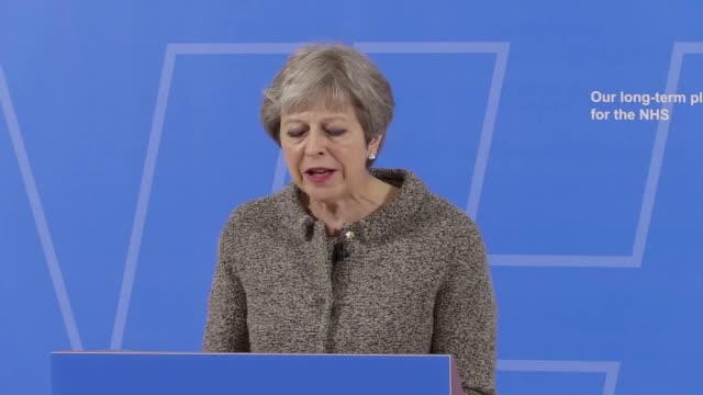 the prime minister gives a speech about her plans to improve the nhs which includes more funding to be payed for by tax payers and money not going to... - improvement stock videos & royalty-free footage
