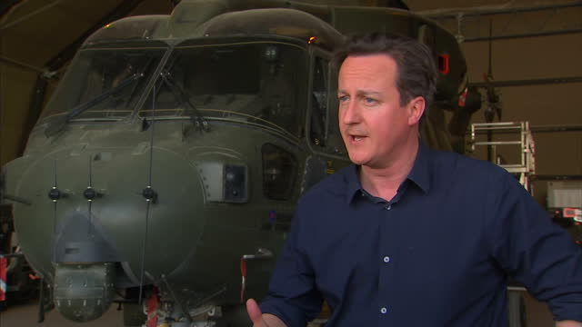 vídeos de stock, filmes e b-roll de the prime minister has been visiting british troops in afghanistan david cameron said he was confident that he would still be able to meet his pledge... - david cameron político