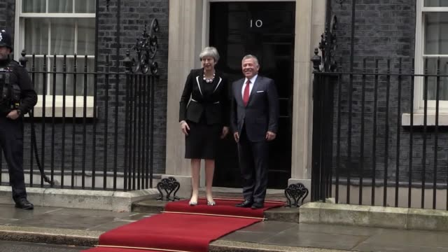 The Prime Minister is due to hold talks with King Abdullah II during his visit She is set to announce new economic support for the country as she...