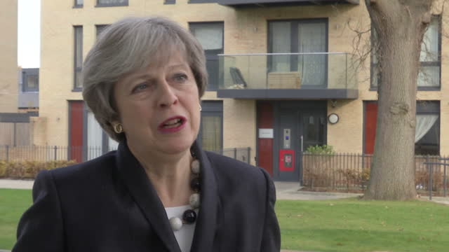 the prime minister says she will take personal charge of the government's plans to try to increase house building affordable homes will be a key... - housing development stock videos & royalty-free footage