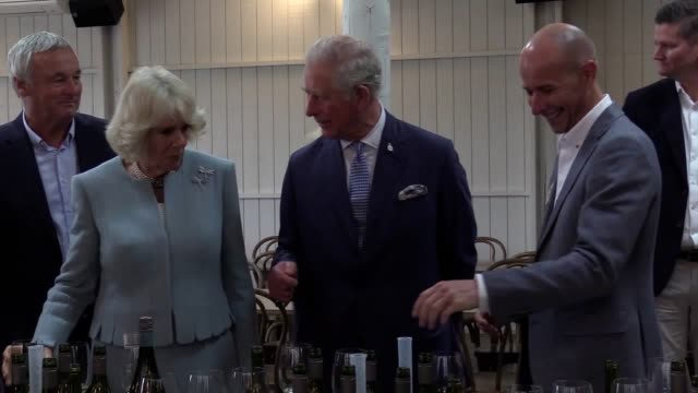 the prince of wales and duchess of cornwall sampled some of new zealand's produce during the first day of their visit to the country – creating and... - new zealand stock videos & royalty-free footage
