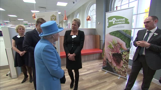 the prince of wales and the duchess of cornwall marked the opening of the duchess of cornwall inn in poundbury queen elizabeth ii also in attendance... - queen dowager stock videos & royalty-free footage