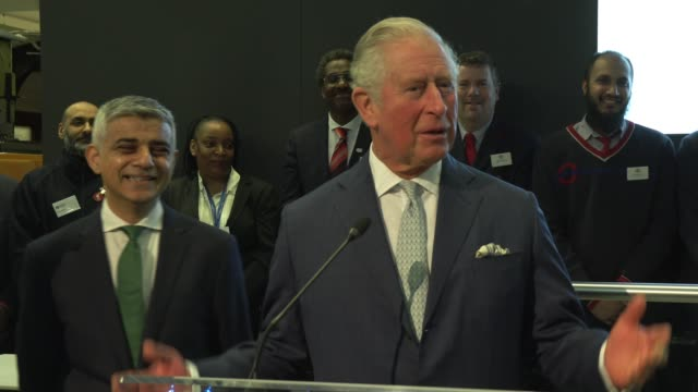 the prince of wales and the duchess of cornwall visit the london transport museum on march 4, 2020 in london, england. - prince of wales stock videos & royalty-free footage