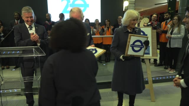 the prince of wales and the duchess of cornwall visit the london transport museum on march 4 2020 in london england - visit stock videos & royalty-free footage