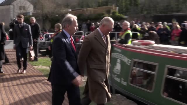 The Prince of Wales patron of The Canal River Trust officially opens the first phase of the restored Cotswold Canals and meets volunteers from the...