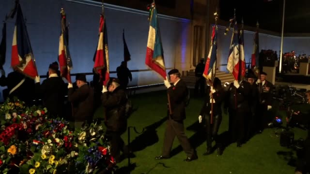 The Prince of Wales visits the Australian National Memorial near Amiens France for a dawn service to commemorate the centenary of the Battle of...