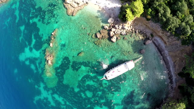 the private bay - oludeniz stock videos and b-roll footage