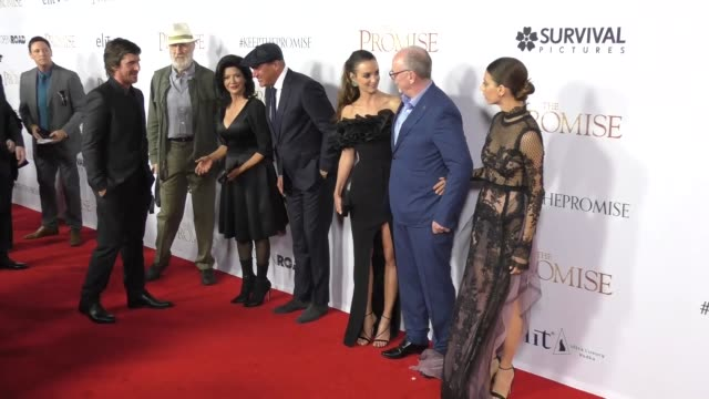 'The Promise' Cast at 'The Promise' Los Angeles Premiere at TCL Chinese Theatre on April 12 2017 in Hollywood California