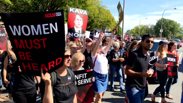 The protests around Capitol Hill of the nomination of Brett M Kavanaugh to the Supreme Court are about to get starrier A group of celebs including...