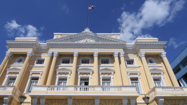 the provincial palace, santiago de cuba, cuba - 新古典派点の映像素材/bロール