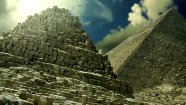 the pyramids of giza egypt - valley of the kings stock videos & royalty-free footage