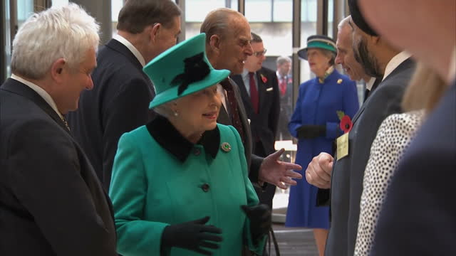 the queen and prince philip have finally set off to sandringham for their christmas break after heavy colds delayed their journey yesterday the royal... - francis crick stock videos & royalty-free footage