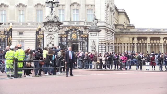 The Queen and the Duke of Edinburgh leave Buckingham Palace following the announcement that Prince Philip with step down from official royal duties...